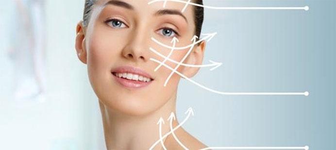 Il lifting del viso con i fili estetici