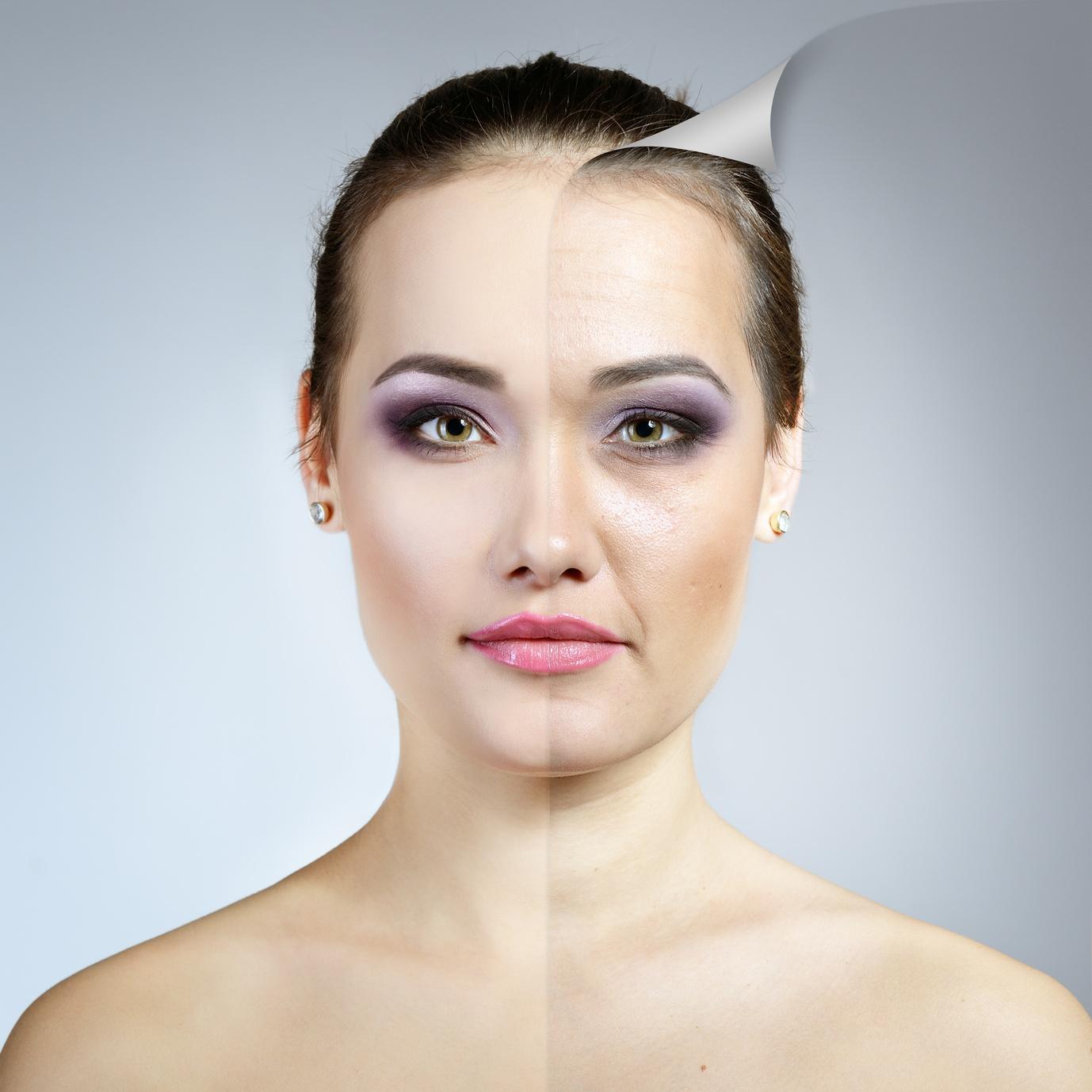 Gli effetti dell'invecchiamento sulla pelle sono evidenti. Ecco le cause