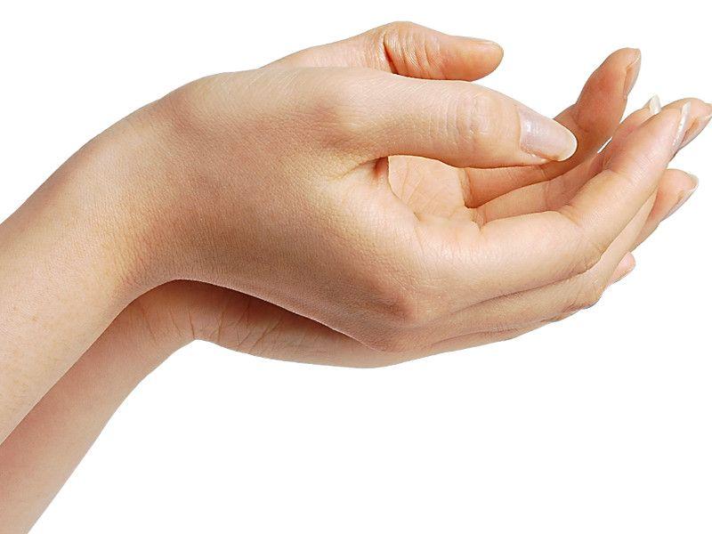 Iperidrosi palmare, le mani sudano!