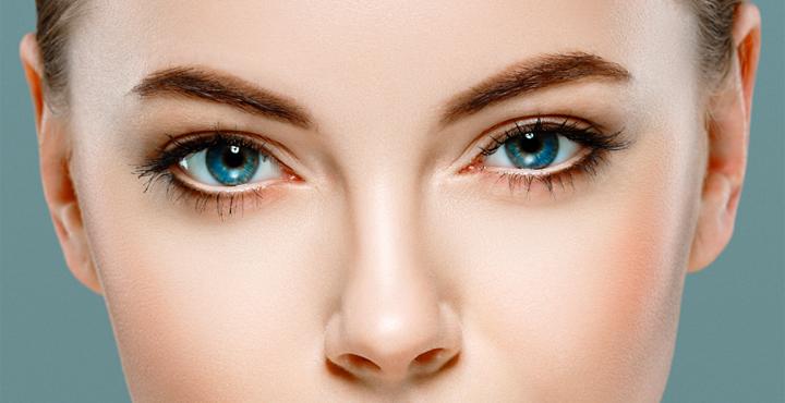 SImmetria del viso e sguardo per una bellezza naturale