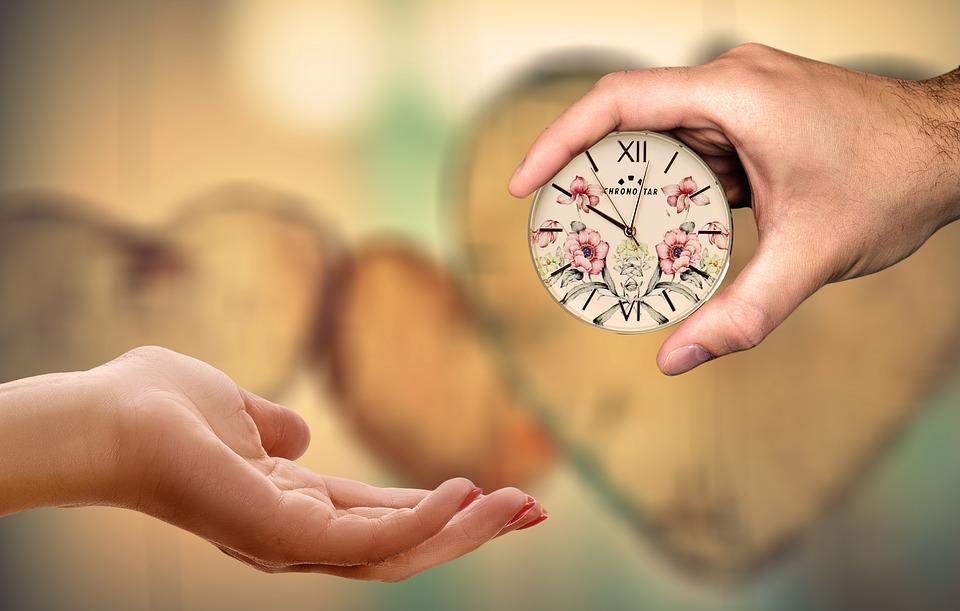 Regalare e regalarsi tempo