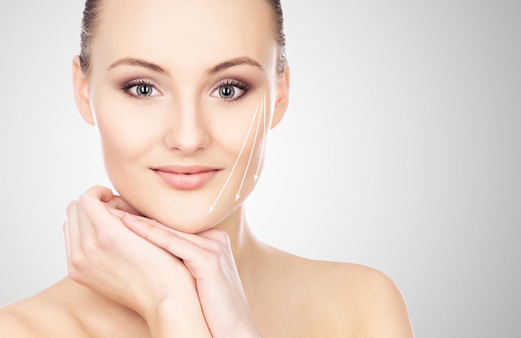 Tecniche combinate di ringiovanimento del viso
