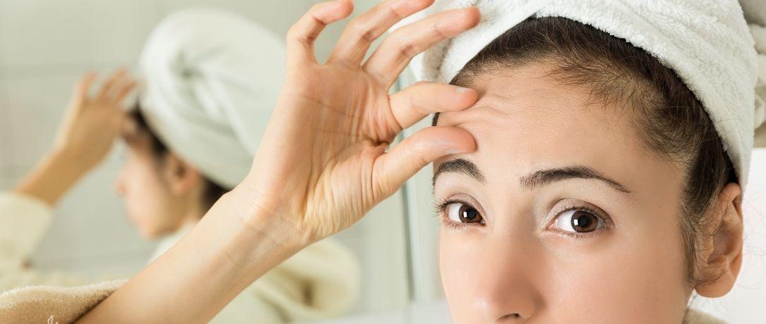 Filler e tecniche di medicina estetica per le rughe della fronte